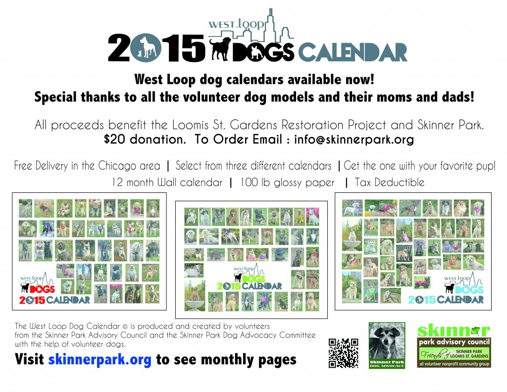 2015 WL Dog Calendar